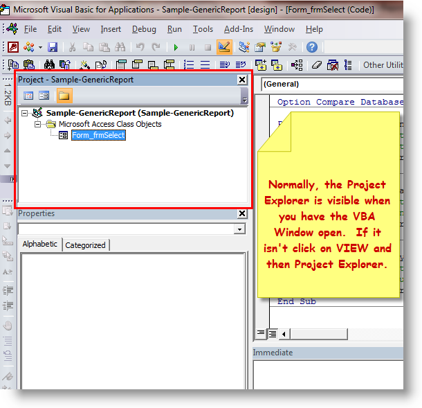 How to Find and/or Change VBA Project Name | BTAB Development